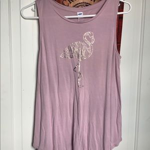 A Pink Flamingo Old Navy Tank!